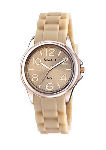 Uhr Select Damen Gold Rose TT100 12