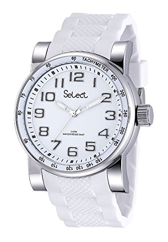 Uhr Cab Select fr 47 01 SPORT Weiss