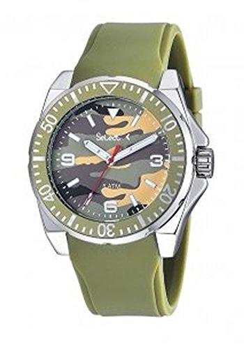 Uhr Select Unisex Camouflage te 13 06