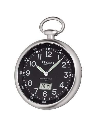 Regent Herren-Taschenuhr XL Analog Quarz 11280061