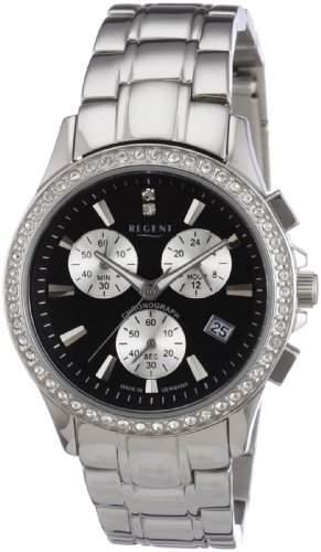 Regent Damen-Armbanduhr XS Analog Edelstahl 12220795