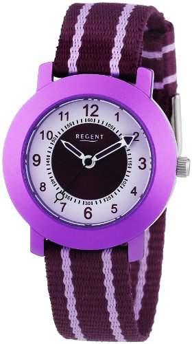 Regent Unisex-Armbanduhr Analog Quarz Textil 12400210