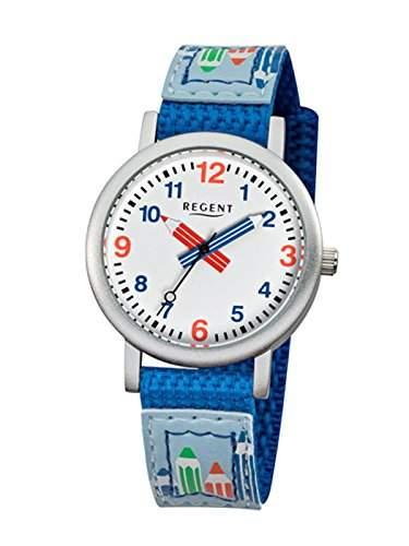 Regent Kinderuhr Stifte blau 12400221