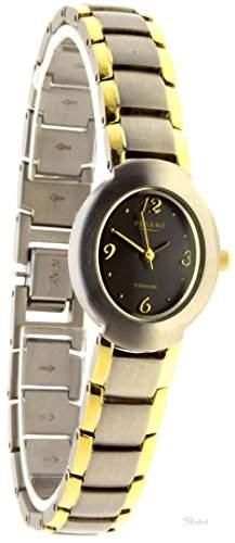 Regent elegante Damenuhr Titan vergoldet 73309191
