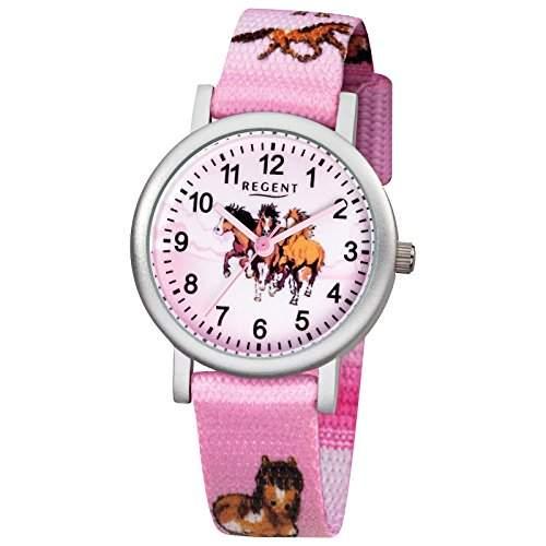 Regent Kinder-Armbanduhr Pferd F 729