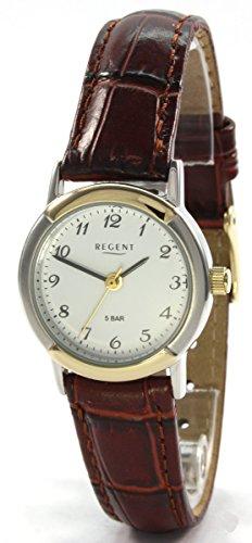 Regent 77994119 Bicolor Lederband Braun