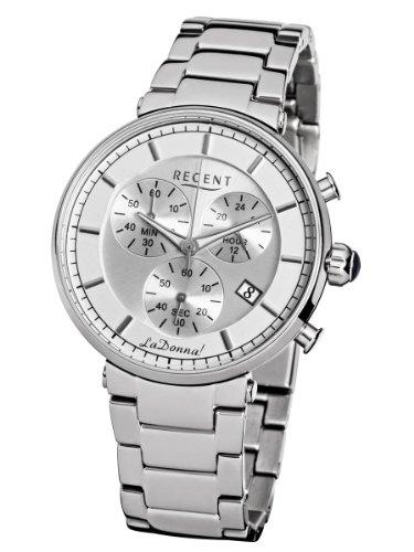 Regent La Donna Edelstahl Chronograph LD1310