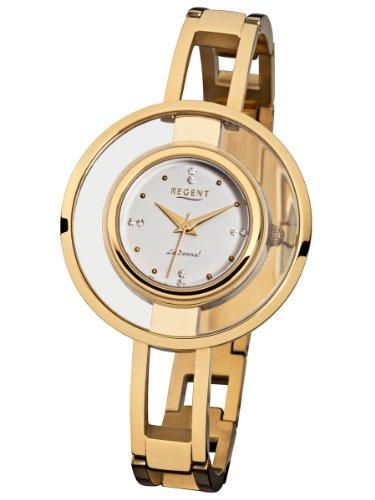 Regent Damen Armbanduhr La Donna Edelstahl Mineralglas LD1317
