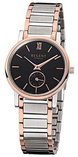 Regent Bicolor Damen Armbanduhr GM 1410