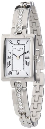 Regent Damen Armbanduhr Analog Quarz Edelstahl 12220882