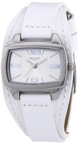 Regent Damen Armbanduhr Analog Quarz Leder 12110980