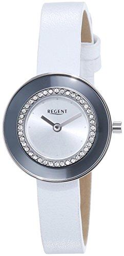 Regent Damen Armbanduhr XS Analog Quarz Leder 12111121