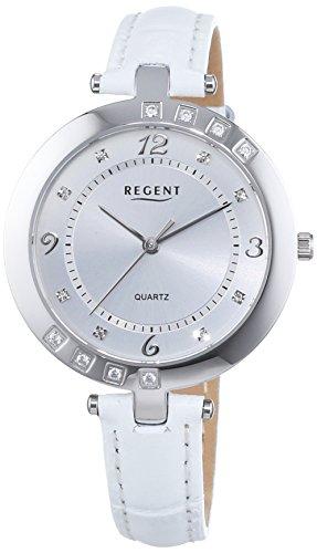Regent Damen Armbanduhr XS Analog Quarz Leder 12111132
