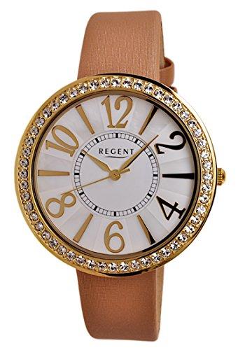 Regent Uhr Damen Edelstahl Armbanduhr Modell 7876 45 11