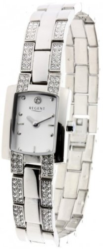 Regent elegante Damen Uhr 78734091 Edelstahl Schmuckband Stahl ladies watch