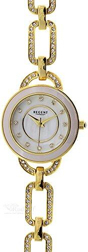 Regent elegante 79034590 Schmuckband Stahl vergoldet ladies watch