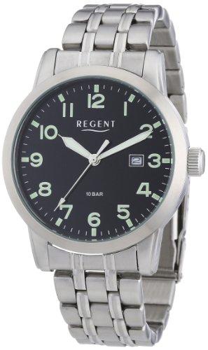 Regent XL Analog Quarz Edelstahl 11150543