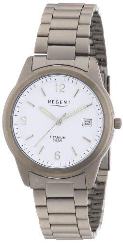 Regent Herren Armbanduhr XL Analog Titan 11090158