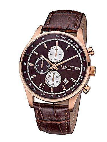 Regent Uhr Herren Edelstahl Chronograph Modell UM 1613
