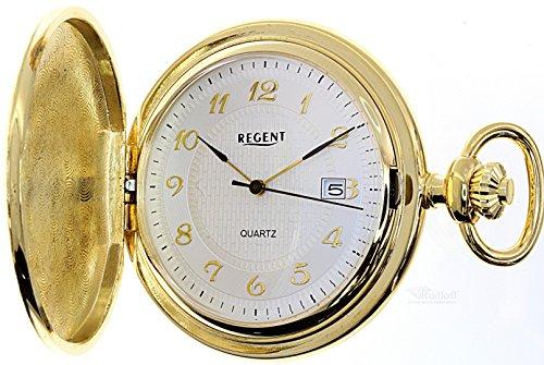 Regent Taschenuhr Savonette Sprungdeckel Uhr 31804g Gravur moeglich pocket watch