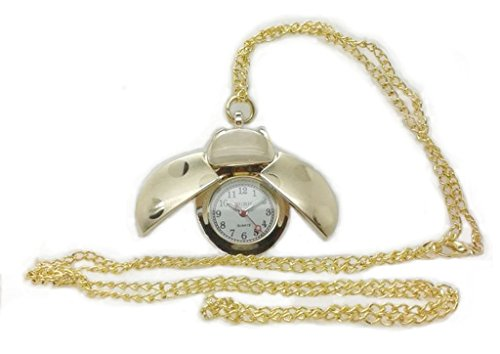 NURH Watch nurse Lady bug gilded golden steel Machine and Battery Japanese First Quality