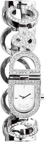 Dolce Gabbana Damen Armbanduhr Analog Quarz Silber DW0129