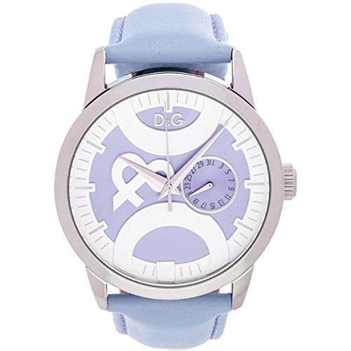 D G Dolce Gabbana Damen Armbanduhr Lederband farbig