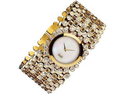 Dolce und Gabbana Uhr Damen Gold DW0244