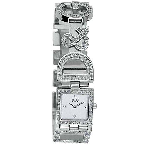 D G Uhr Dolce Gabbana DW0031 Tag und Nacht Strass Silber
