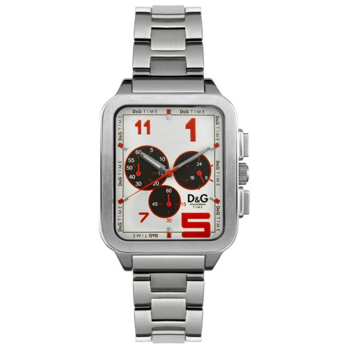 D G Dolce Gabbana Herren Armbanduhr Analog Quarz Edelstahl DW0185
