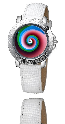Rainbow e motion of color Damen Armbanduhr Aurora vertigo AU88 WL ve