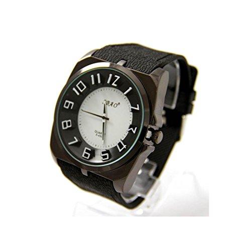 Armbanduhr Silikon schwarz Fantasie sbao 2266