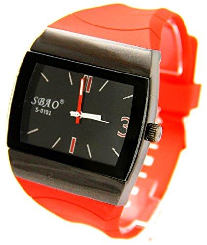 mit Armband Silikon Rot sbao 79