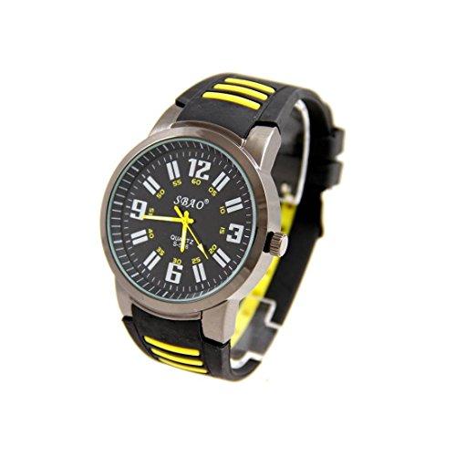 Zeigt Herren Armband Silikon in Schwarz sbao 2413