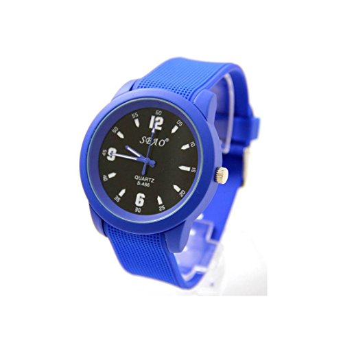 Zeigt Herren Fantasie Armband Silikon Blau sbao 1820