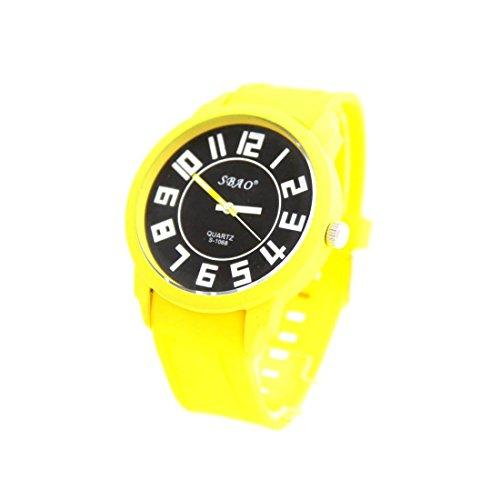 Zeigt Herren Preis Mini Silikon Gelb sbao 2930