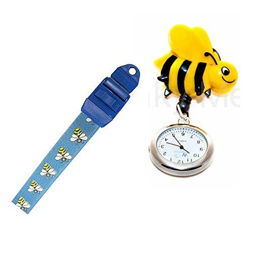Bee Roll Schluesselanhaenger Clip Armbanduhr und Tourniquet Krankenschwester Geschenk Set
