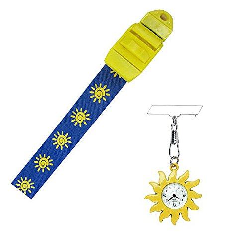Sun Krankenschwester Geschenk Taschenuhr und Tourniquet Set