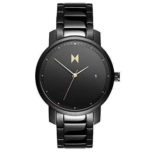 MVMT Damen Watch Uhr All Black Edelstahl Armband MF01 B