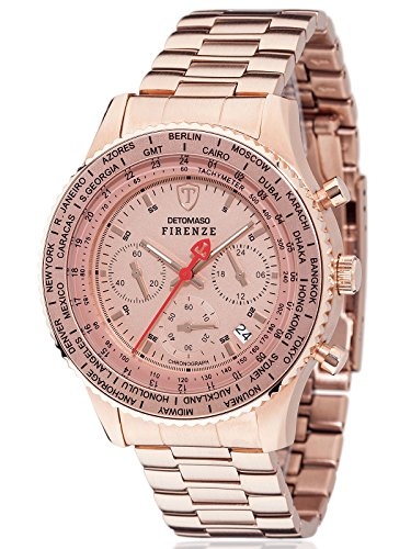 Detomaso Herren Armbanduhr SM1624C RG
