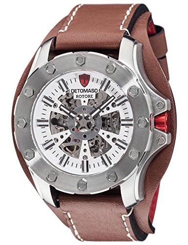 DETOMASO Herren Armbanduhr Analog Automatik DT2061 B