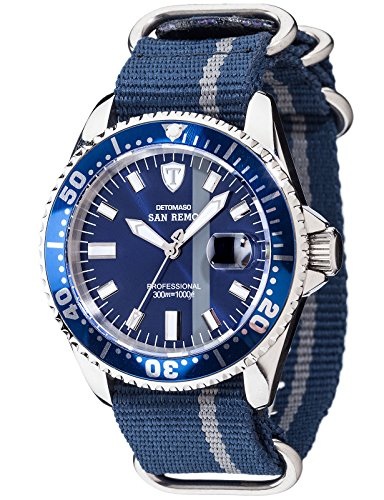 Detomaso Herren Armbanduhr DT1025 P