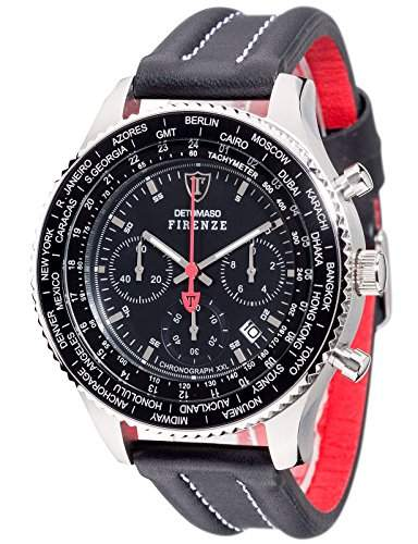 DETOMASO Herren-Armbanduhr Man Firenze Chronograph Quarz DT1045-A