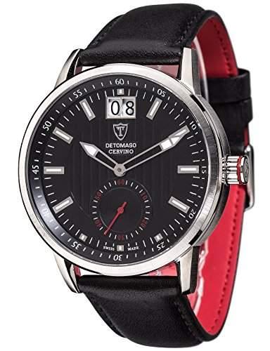 DETOMASO Herren-Armbanduhr Cervino Analog Quarz DT1060-C