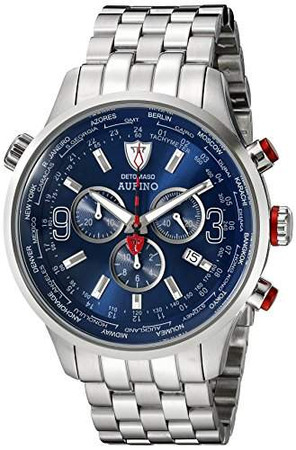 DETOMASO AURINO Chronograph SilverBlue DT1061-C