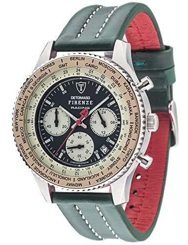 DETOMASO Herren-Armbanduhr Man Firenze Chronograph Quarz DT1069-B