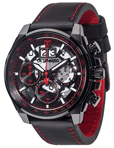 DETOMASO Herren-Armbanduhr Man Livello Analog Quarz DT2060-B
