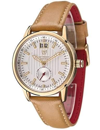 DETOMASO Damen-Armbanduhr Analog Quarz DT3023-B
