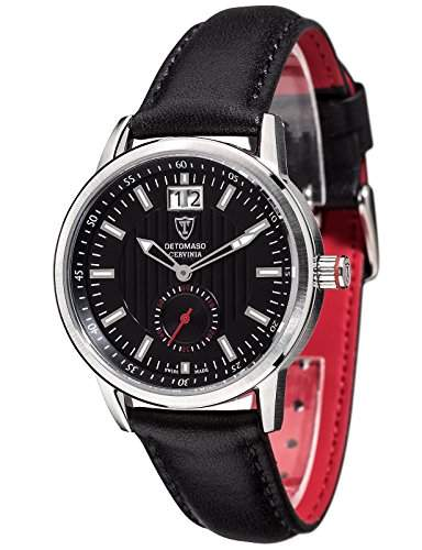 DETOMASO Damen-Armbanduhr Analog Quarz DT3023-C