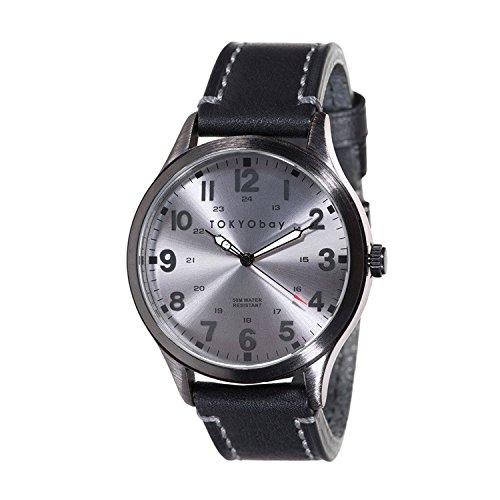 TokyoBay Mason Uhr Grau Schwarz